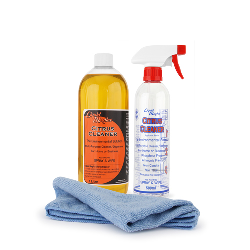 Liquid Magics Citrus Cleaner Concentrate 1 Litre Kit
