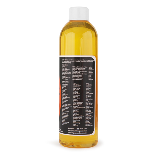 Liquid Magics Citrus Cleaner Concentrate 500ml
