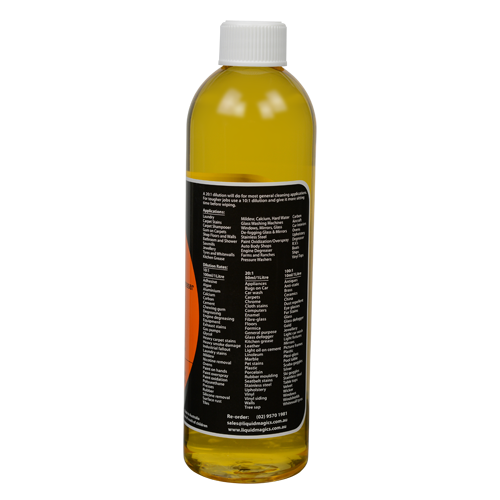 Liquid Magics All Purpose Citrus Cleaner Concentrate 500ml ONLY