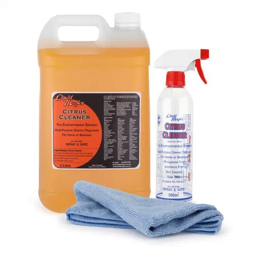 Liquid Magics All Purpose Citrus Cleaner Concentrate 5 Litre Kit